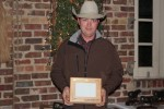 Reserve Produce of Dam<br>Roger and Kaye Fuller, Chris Koffsky of SFA shown accepting the award