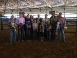 Livestock Judging at Beefmaster U